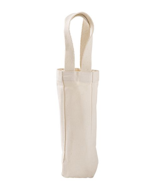 Liberty Bags U1725 Liberty Bags Single Bottle Wine Tote