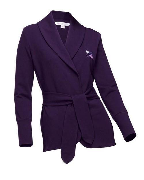 Lilac Bloom LB673 Bethany Womens Knit Robe Jacket with faux belt