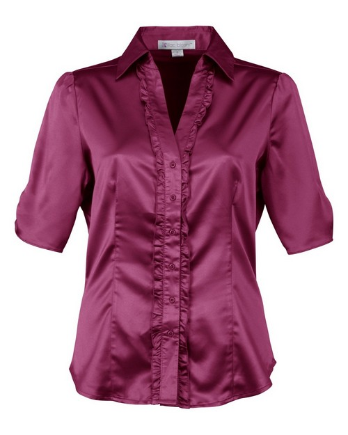 Lilac Bloom LB733 - Juliet-Women's Short Sleeves Shirt by Tri-Mountain