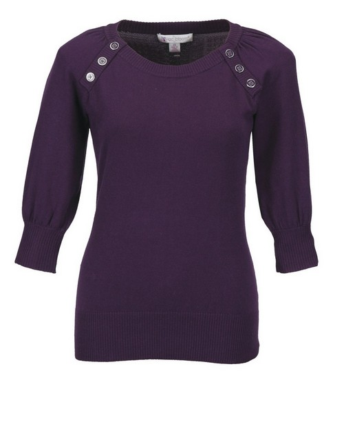Lilac Bloom LB925 Emma Womens Knit Elbow Sleeve Sweater by Tri-Mountain