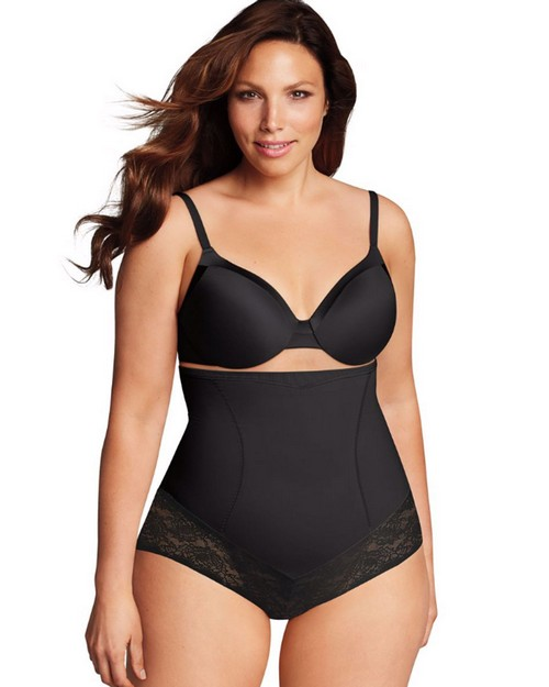 Maidenform DM1023 Firm Foundations Curvy Hi Waist Brief