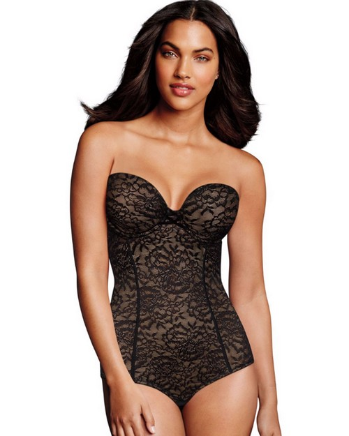 Maidenform DM2008 Sexy Lace Firm Control Convertible Bodybriefer