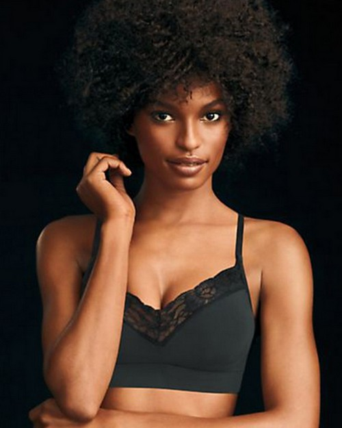 Maidenform DM7968 Fit to Flirt Seamless Lace T-Back Bra