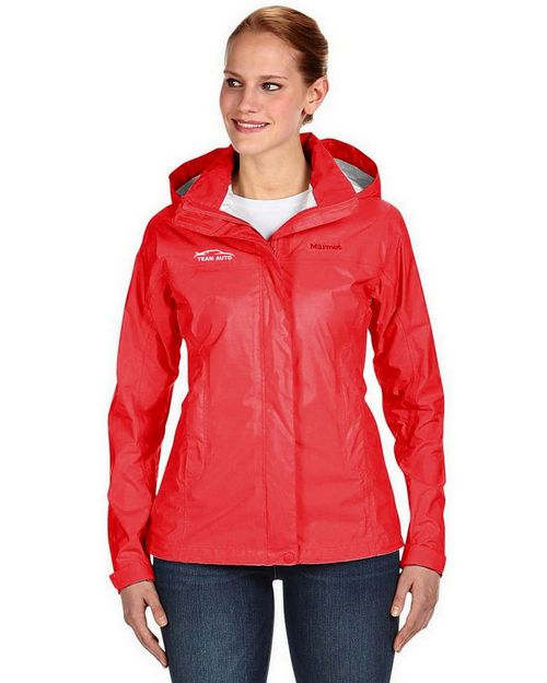 Marmot Logo Embroidered PreCip Jacket - For Women
