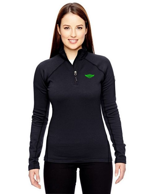 Marmot 89610 Ladies Stretch Fleece Half Zip Pullover