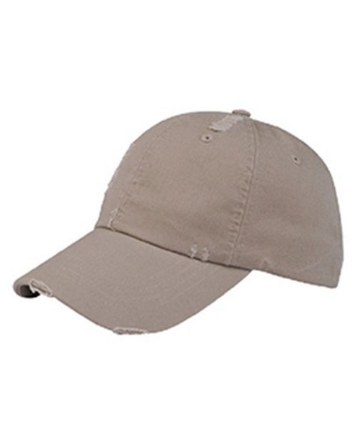 Mega Cap 6891 Washed Cotton Distressed Cap