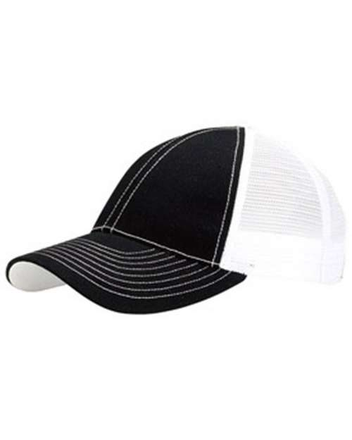 Mega Cap 7641 Two Tone Trucker Cap
