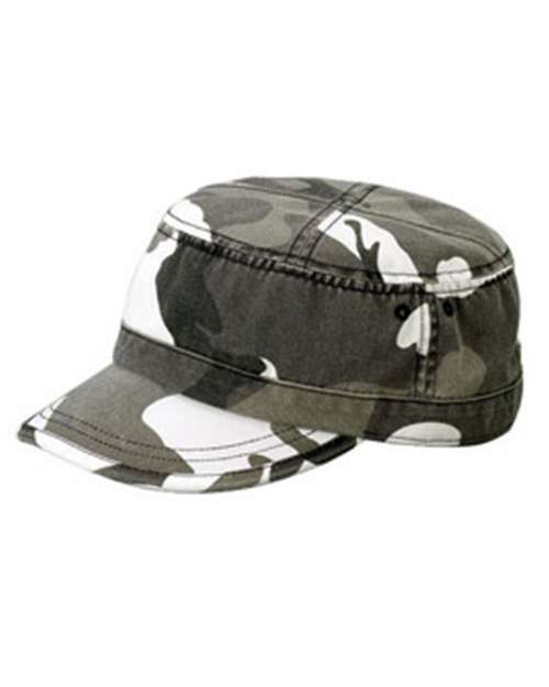 Mega Cap 9028 Enzyme Washed Army Cap