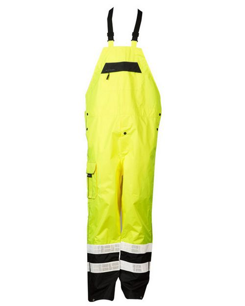Ml Kishigo RWB106-107 Premium Black Series Rainwear Bib