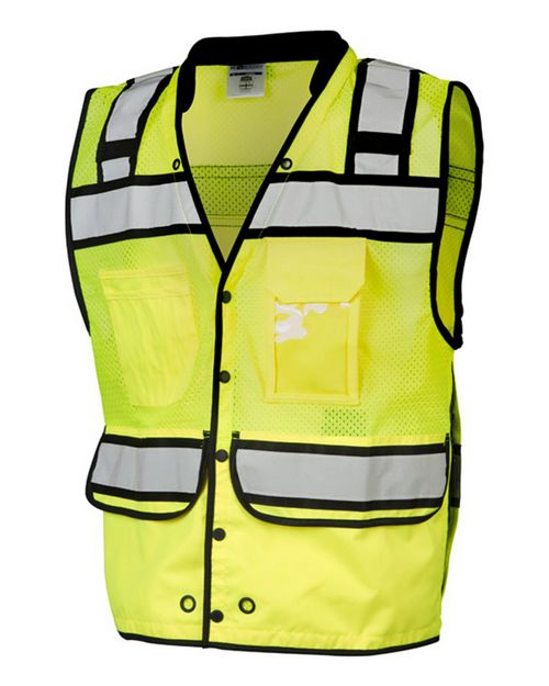 Ml Kishigo S5006-5007 High Performance Surveyors Snap Vest