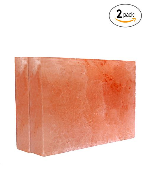 Natures Artifacts Himalayan Rock Salt Cooking Slab - Thick (12x8x2) - Pack of 2