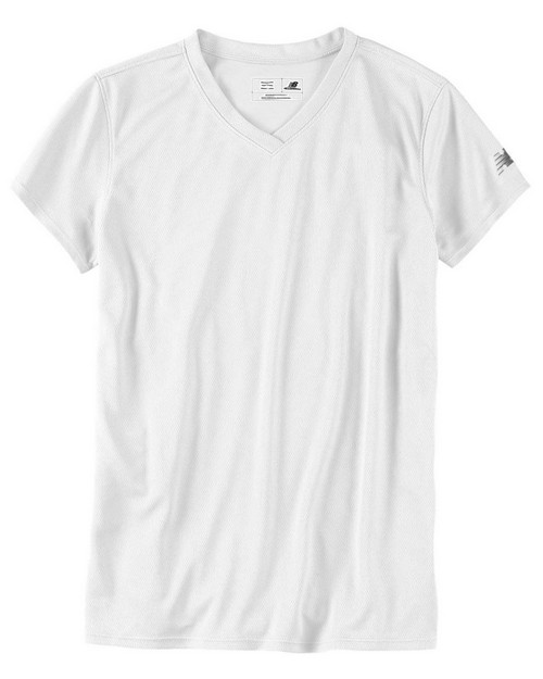 New Balance 7118L Ndurance Ladies Athletic V-Neck Tee