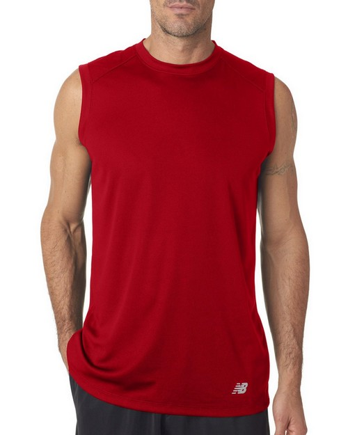 New Balance NB7117 Mens NDurance Athletic Workout T-Shirt