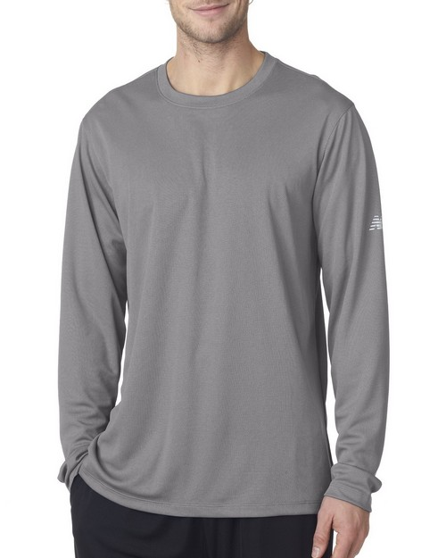 New Balance NB7119 Men's NDurance Athletic Long Sleeve T Shirt