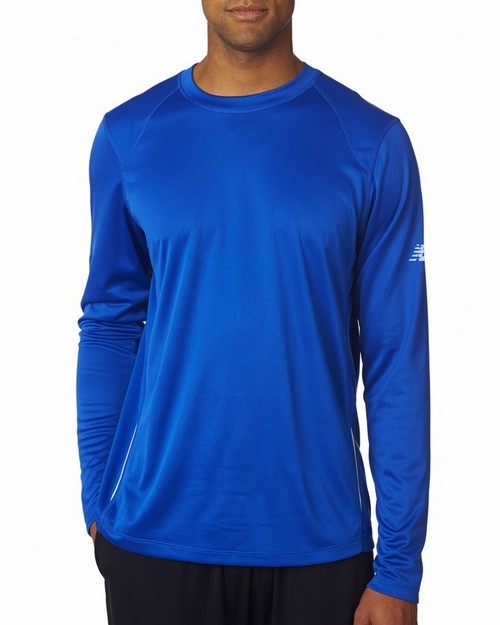 New Balance NB9119 Mens Tempo Long-Sleeve Performance T-Shirt