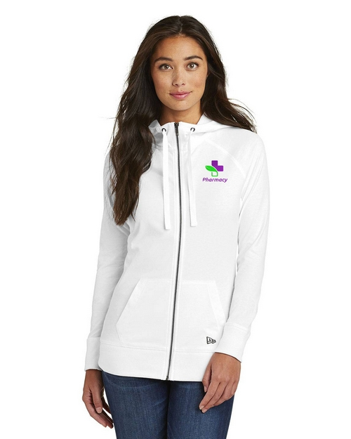New Era Logo Embroidered Hoodie - For Women