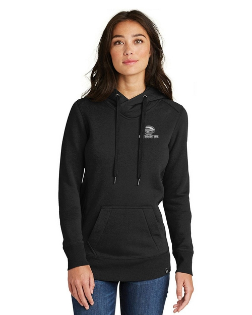 Logo Embroidered New Era Logo Embroidered Hoodie - For Women