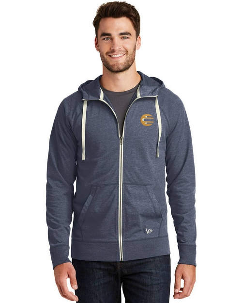 Logo Embroidered New Era Logo Embroidered Hoodie - For Men