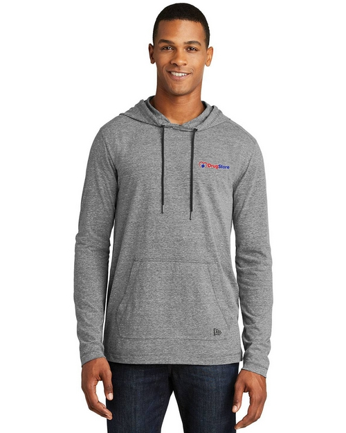 New Era Logo Embroidered Hoodie T-Shirt - For Men