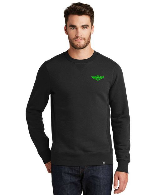 Logo Embroidered New Era Logo Embroidered Sweatshirt - For Men