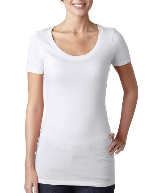 Next Level 3530 Ladies Scoop Neck Tee