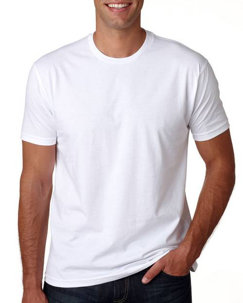Next Level 3600A Mens Made in USA Cotton Crewneck T-Shirt