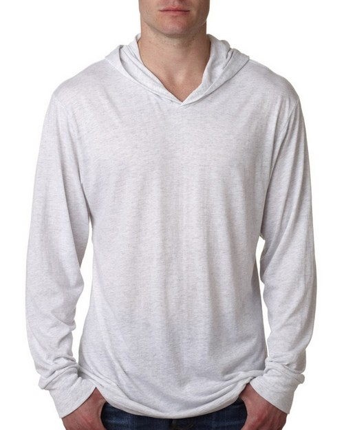 Next Level 6021 Triblend Long Sleeve Hoodie