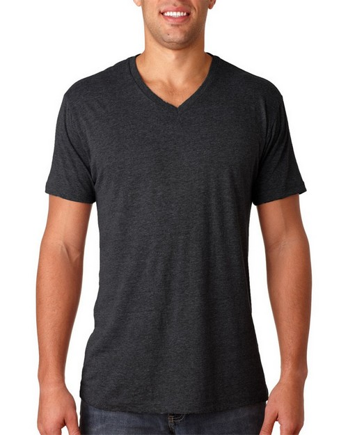 Next Level 6040 Mens Triblend V-Neck Tee