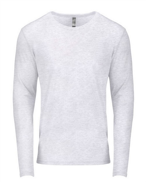 Next Level 6071 Mens Triblend Long Sleeve Crew Tee