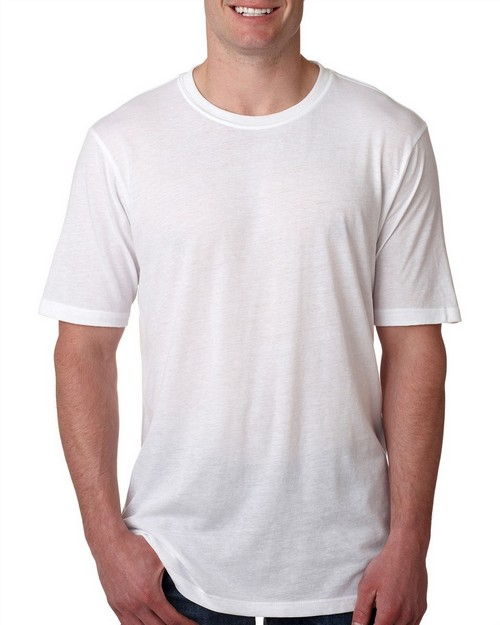 Next Level 6200 Mens Poly/Cotton Short Sleeve Crew Tee