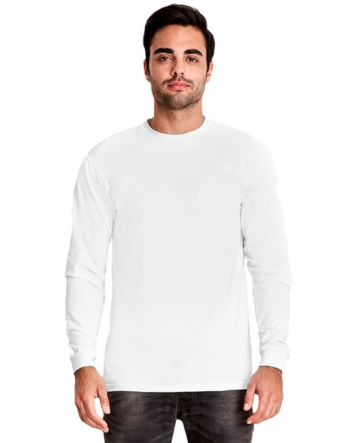 Next Level 7401 Adult Inspired Dye Long-Sleeve Crew