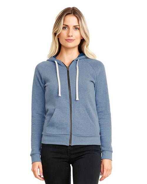 Next Level 9603 Ladies PCH Raglan Zip Hoodie