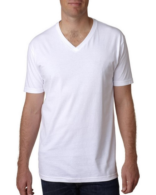 Next Level N3200 Mens Premium Fitted Short-Sleeve V-Neck Tee