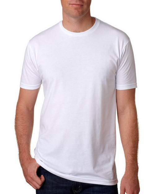 Next Level N6210 Mens Premium Fitted CVC Crew Tee