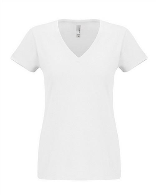 Next Level N6480 Ladies Sueded V-Neck Tee