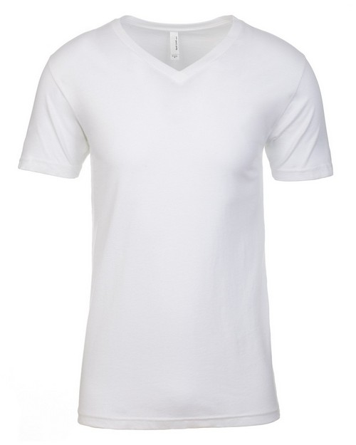 Next Level NL3200 Mens Premium Fitted Short Sleeve V-Neck Tee