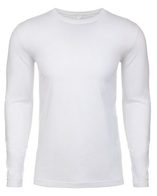 Next Level NL3601 Mens Premium Fitted Long Sleeve Tee