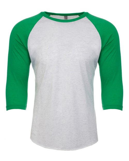 Next Level NL6051 Unisex Tri-Blend 3/4 Sleeve Raglan