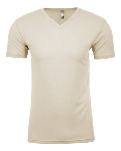 Next Level NL6440 Mens Premium Fitted Sueded V-Neck Tee