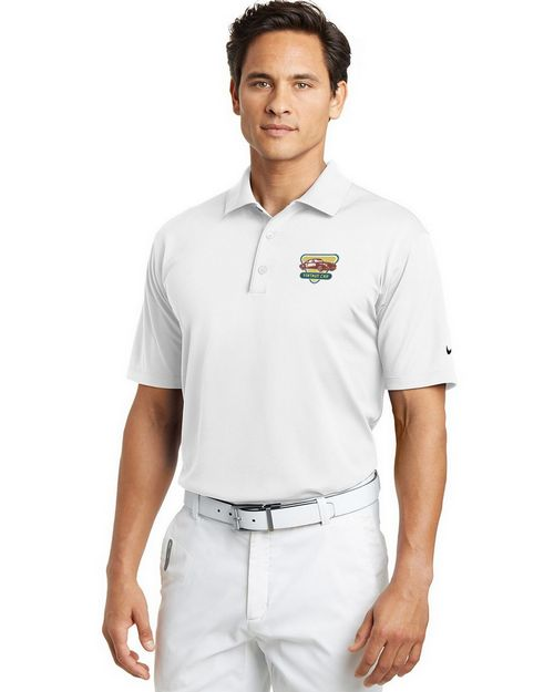 Nike Golf Men Tech Basic Dri-FIT Logo Embroidered Polo Shirt