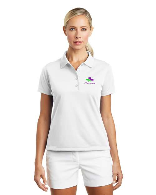 Nike Golf Women Tech Basic Dri-FIT Logo Embroidered Polo Shirt