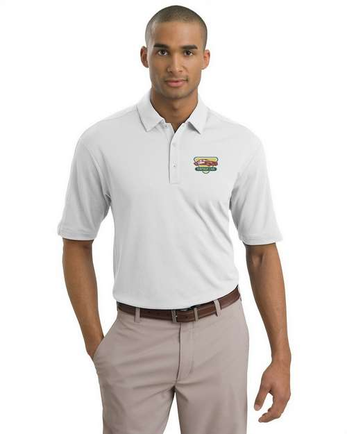 Nike Golf Men Tech Sport Dri-FIT Logo Embroidered Polo Shirt