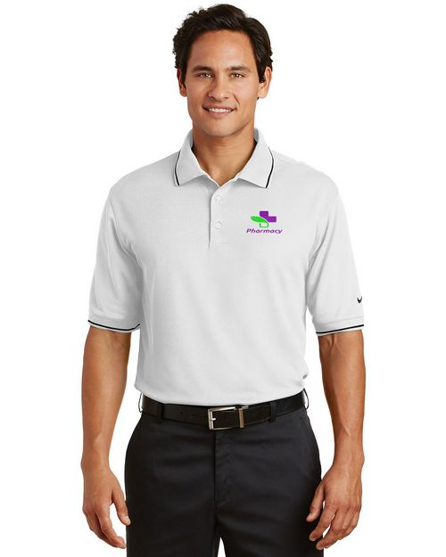 Nike Golf 319966 Dri-FIT Classic Tipped Polo Shirt - For Men