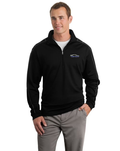 Logo Embroidered Nike Golf Dri-FIT 1/2 Zip Cover-Up Custom Logo Embroidered - For Men