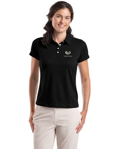 Nike Golf 354064 Ladies Dri-FIT Pebble Texture Polo