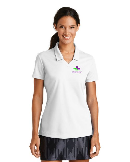 Nike Golf Dri-FIT Micro Pique Logo Embroidered Polo Shirt- For Women