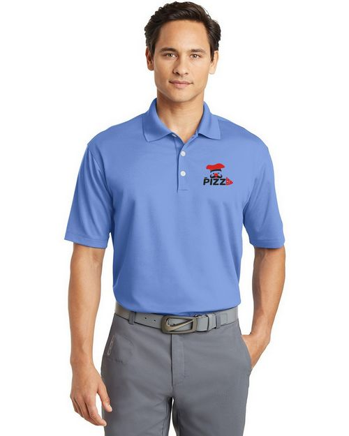 Logo Embroidered Nike Golf Men Dri-FIT Micro Pique Custom Logo Embroidered Polo Shirt