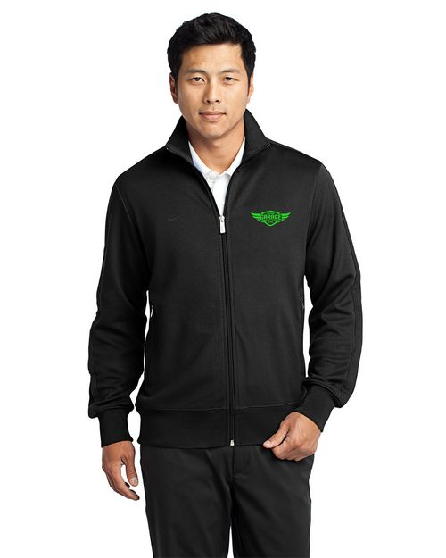Nike Golf Dri-Fit Custom Logo Embroidered Track Jacket - For Men