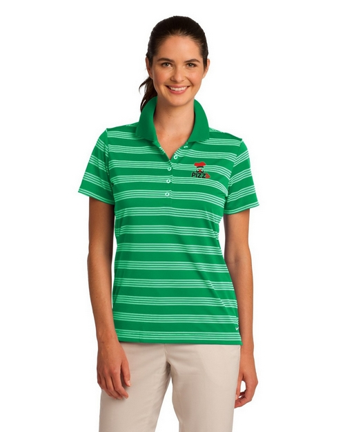 Nike Golf 578678 Stripe Polo Shirt - For Women