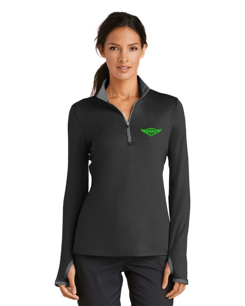 Nike Golf 1/2 Zip Cover-Up Logo Embroidered - For Women